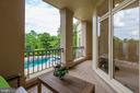 Terrace Off the Kitchen - 8313 PERSIMMON TREE RD, BETHESDA