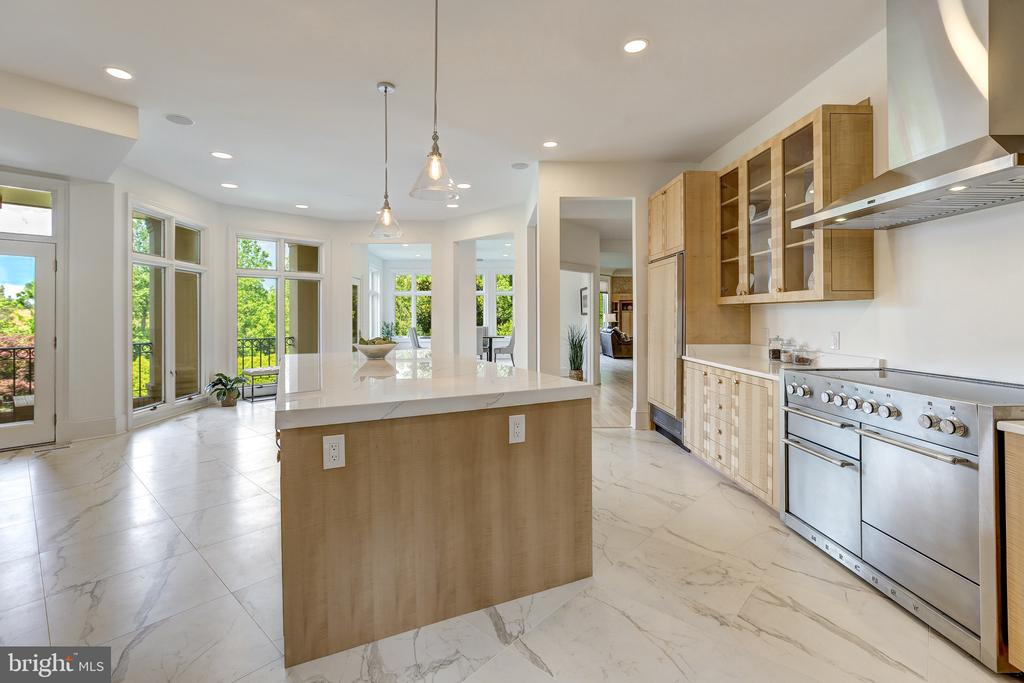 Connected to an Elevated Terrace - 8313 PERSIMMON TREE RD, BETHESDA