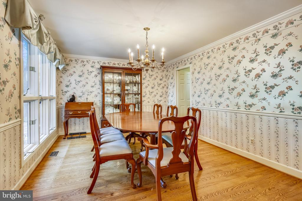 Formal dining room for holiday meals. - 4103 FAITH CT, ALEXANDRIA