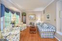 Light filled formal living room - 106 CONFEDERATE CIR, LOCUST GROVE