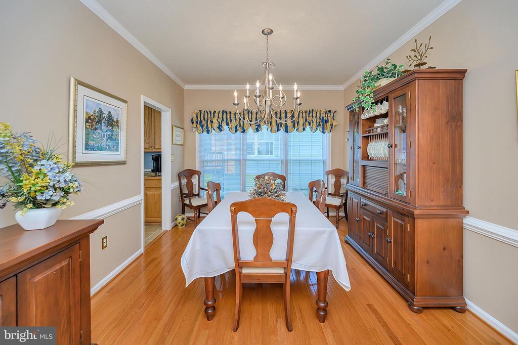 Spacious formal dining room full of light - 106 CONFEDERATE CIR, LOCUST GROVE