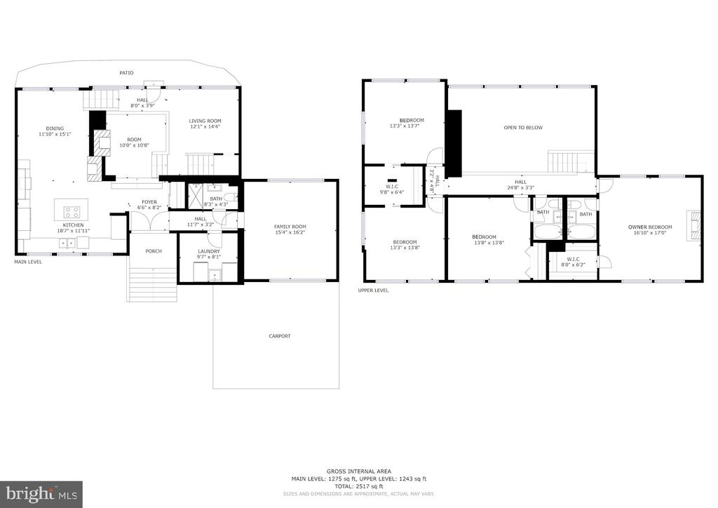 Floor Plan - 3421 Stoneybrae Drive - 3421 STONEYBRAE DR, FALLS CHURCH