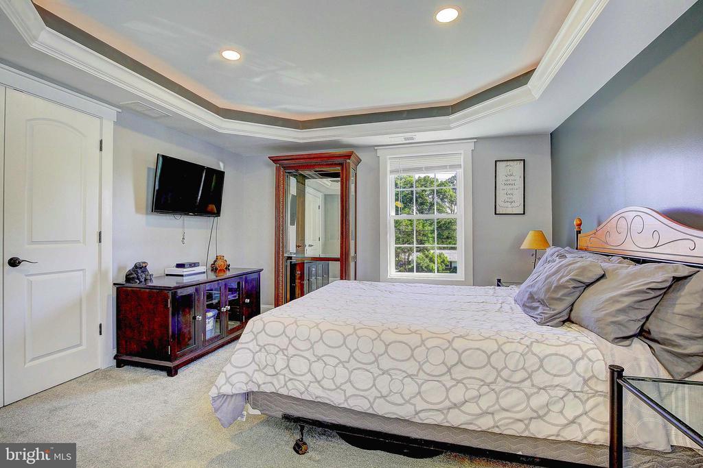 Upstairs Master Bedroom - 10351 SCAGGSVILLE RD, LAUREL