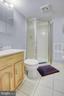 Basement Bathroom - 10351 SCAGGSVILLE RD, LAUREL