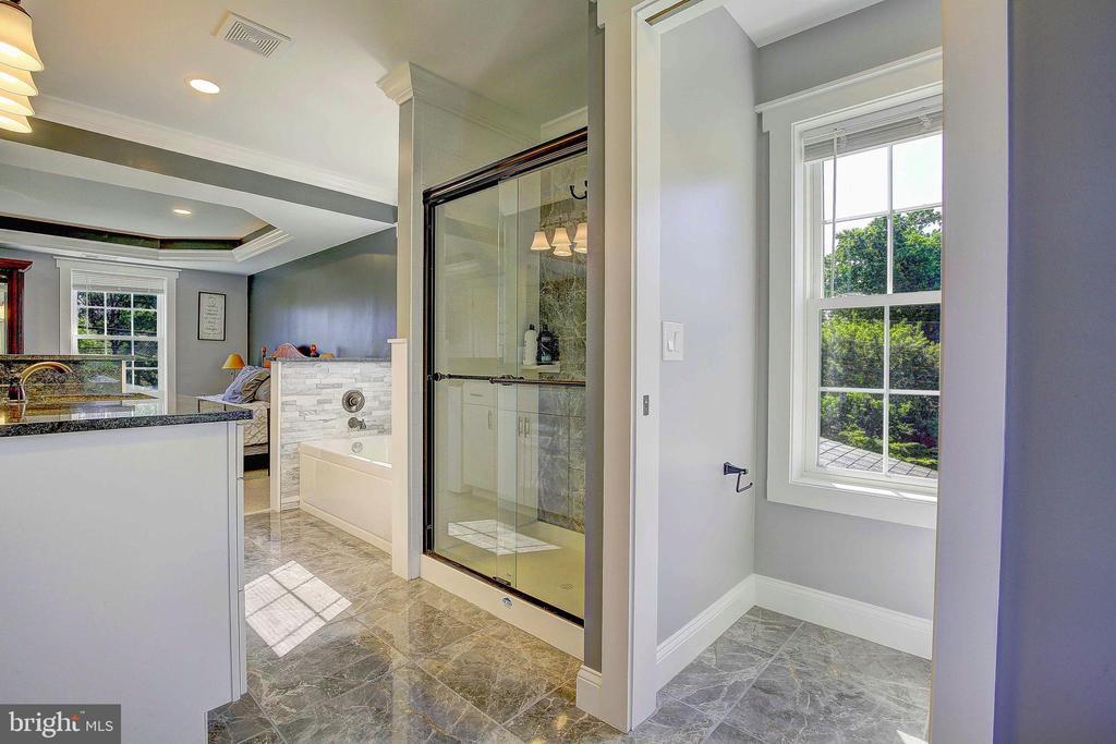Master Bathroom - 10351 SCAGGSVILLE RD, LAUREL