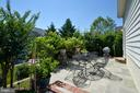 Back patio - 43217 BARNSTEAD DR, ASHBURN