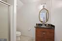 Bathroom #7! - 15929 BRIDLEPATH LN, PAEONIAN SPRINGS
