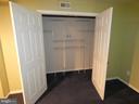 Basement room #2 closet - NOT A LEGAL BEDROOM - 43114 LLEWELLYN CT, LEESBURG