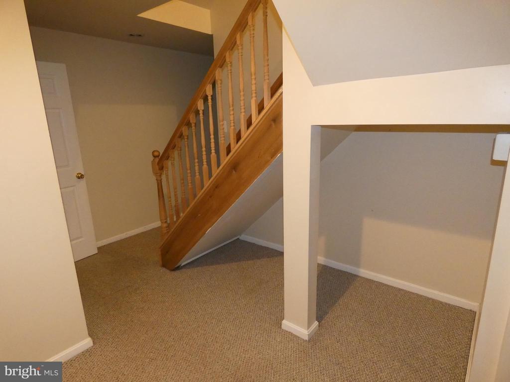 Basement under stairway storage - 43114 LLEWELLYN CT, LEESBURG