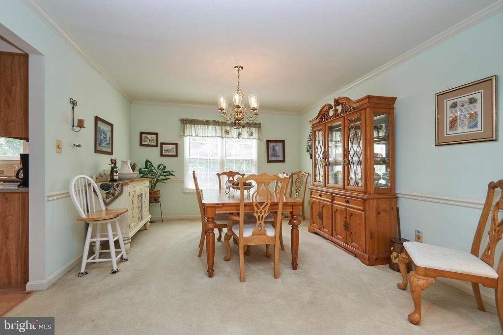Formal Dining Room - 13715 SHELBURNE ST, CENTREVILLE