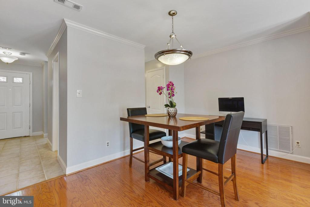 Dining Area - 4023 CHESTERWOOD DR, SILVER SPRING