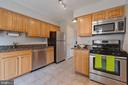 Kitchen with Granite counters - 4023 CHESTERWOOD DR, SILVER SPRING