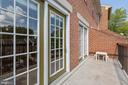Balcony - 4023 CHESTERWOOD DR, SILVER SPRING