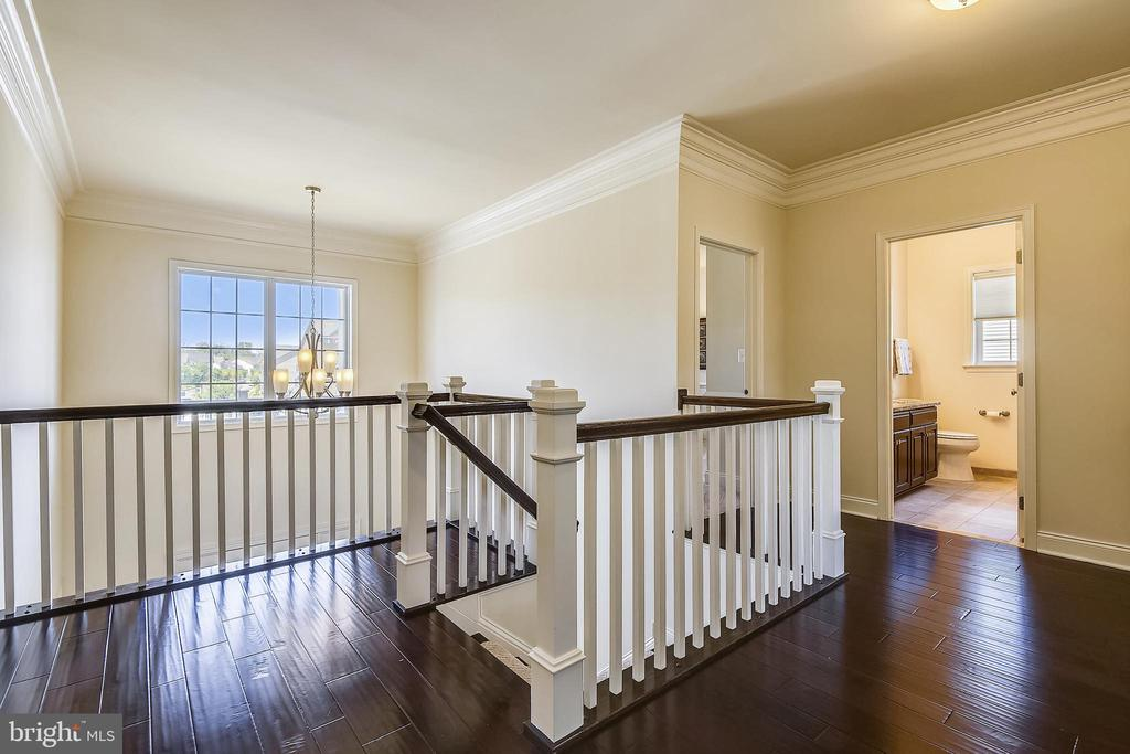 Hardwoods also  in the foyer - 22602 PINKHORN WAY, ASHBURN