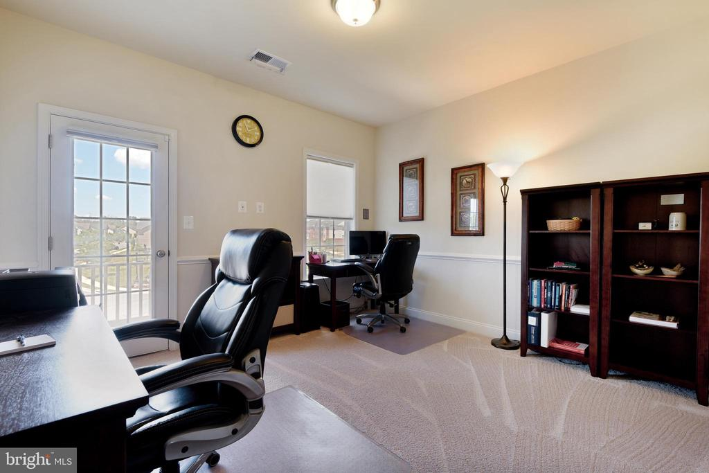Bedroom 4 - perfect for working from home - 22602 PINKHORN WAY, ASHBURN