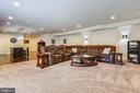Lower Level completely finished w/surround sound - 22602 PINKHORN WAY, ASHBURN