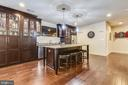 Rich Cabinetry & Granite Island - another Upgrade - 22602 PINKHORN WAY, ASHBURN