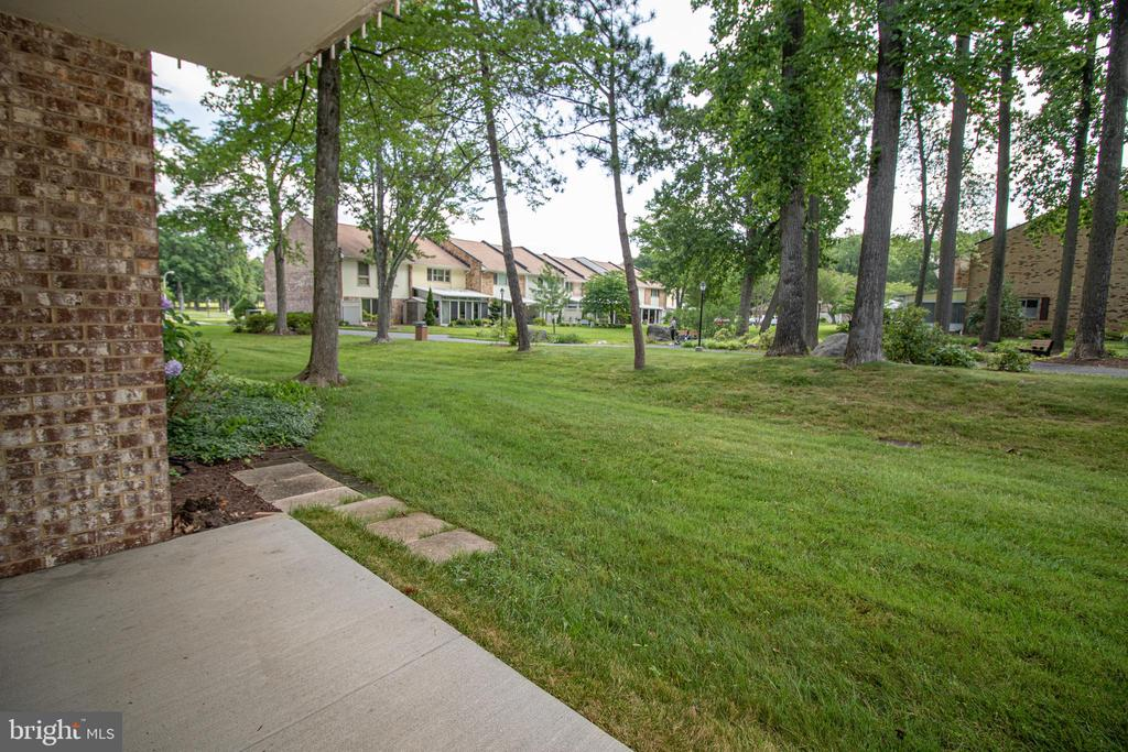 View from the patio - 3618 GLENEAGLES DR #7-1G, SILVER SPRING
