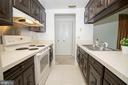 Open Galley Kitchen - 3618 GLENEAGLES DR #7-1G, SILVER SPRING