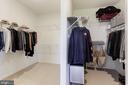 LARGE Walk-in Closet - 43051 THOROUGHFARE GAP TER, ASHBURN