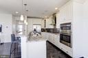 Bright Kitchen with Stainless Steel Appliances - 43051 THOROUGHFARE GAP TER, ASHBURN