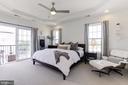 Bright light in Master Bedroom - 43051 THOROUGHFARE GAP TER, ASHBURN