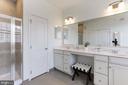 Separate Walk-in Shower - 43051 THOROUGHFARE GAP TER, ASHBURN