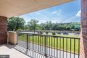 Large balcony - 1300 ARMY NAVY DR #225, ARLINGTON