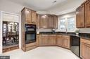 Spacious kitchen conveniently located of the  DR - 47317 GRANDVIEW PL, STERLING
