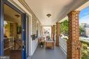 Inviting wrap around porch - 1407 WEBSTER ST NW, WASHINGTON
