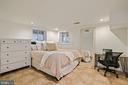 Au pair suite Bedroom - 1407 WEBSTER ST NW, WASHINGTON