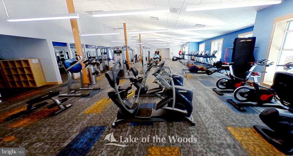 Fitness Center - 106 CONFEDERATE CIR, LOCUST GROVE