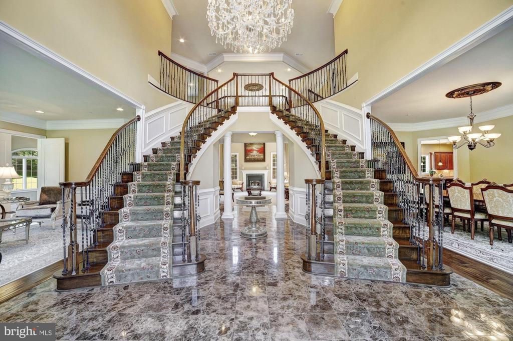 Grand Two Story Foyer - 11227 INDEPENDENCE WAY, ELLICOTT CITY