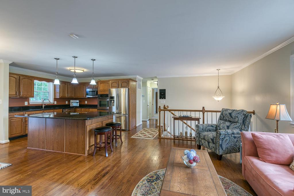 Open Kitchen and Family Room - 201 N RANDOLPH RD, FREDERICKSBURG
