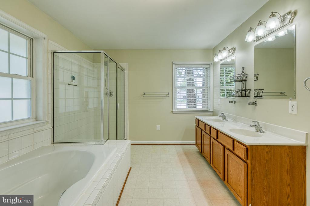 Double Sinks, Soaking Tub and Sep Shower - 201 N RANDOLPH RD, FREDERICKSBURG