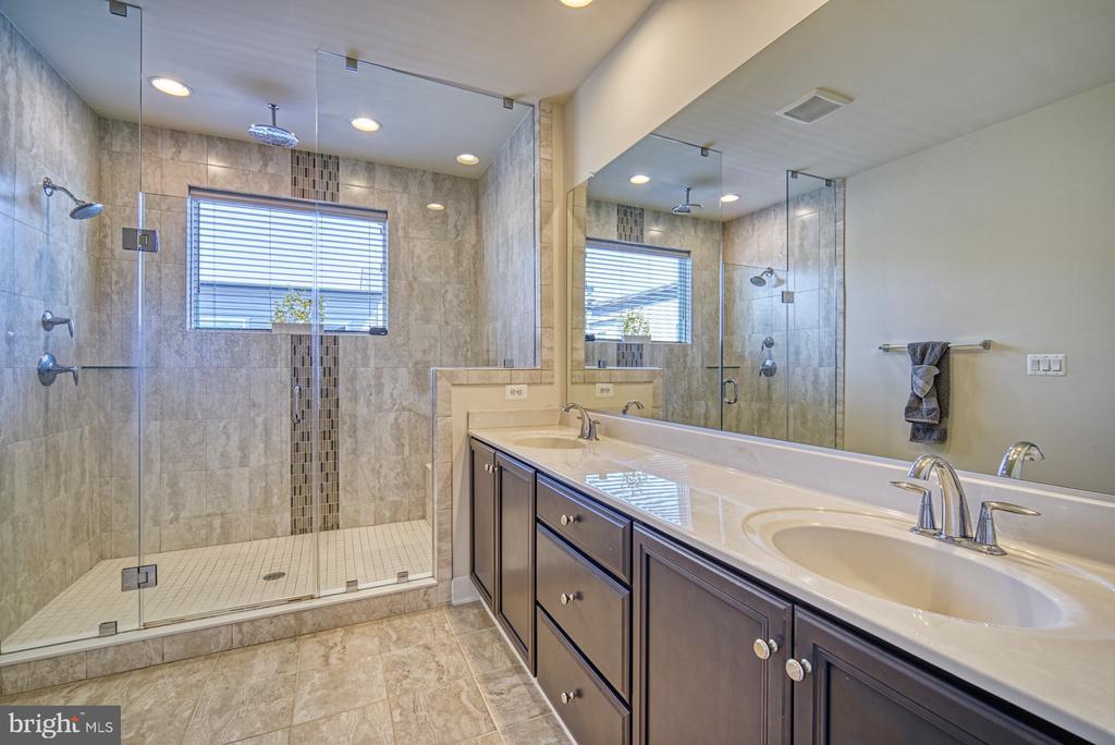 Gorgeous Master Bathroom - 42298 ASHMEAD TER, BRAMBLETON