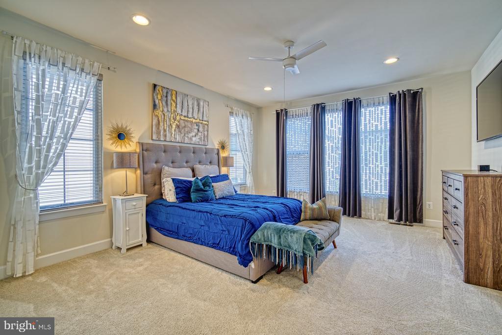 Beautiful Master Bedroom - 42298 ASHMEAD TER, BRAMBLETON