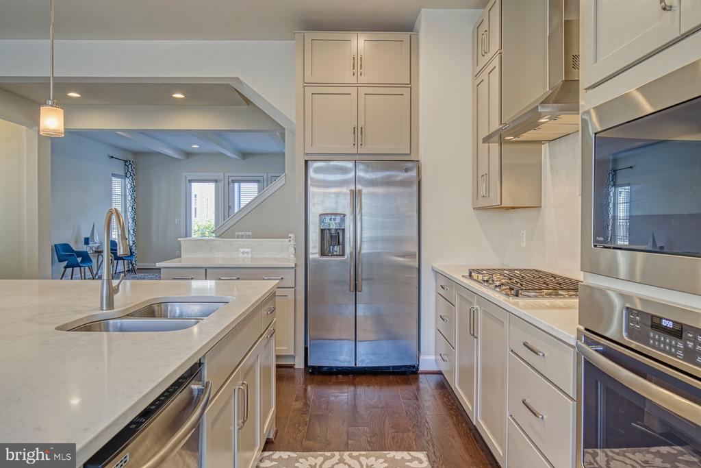 Kitchen has TWO Pantries - 42298 ASHMEAD TER, BRAMBLETON