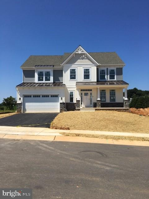 Exterior for viewing only - taken at a model - LOT 3 GREY FOX, SYKESVILLE