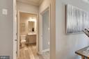Upstairs Hallway leading to bath - 18530 TRAXELL WAY, GAITHERSBURG