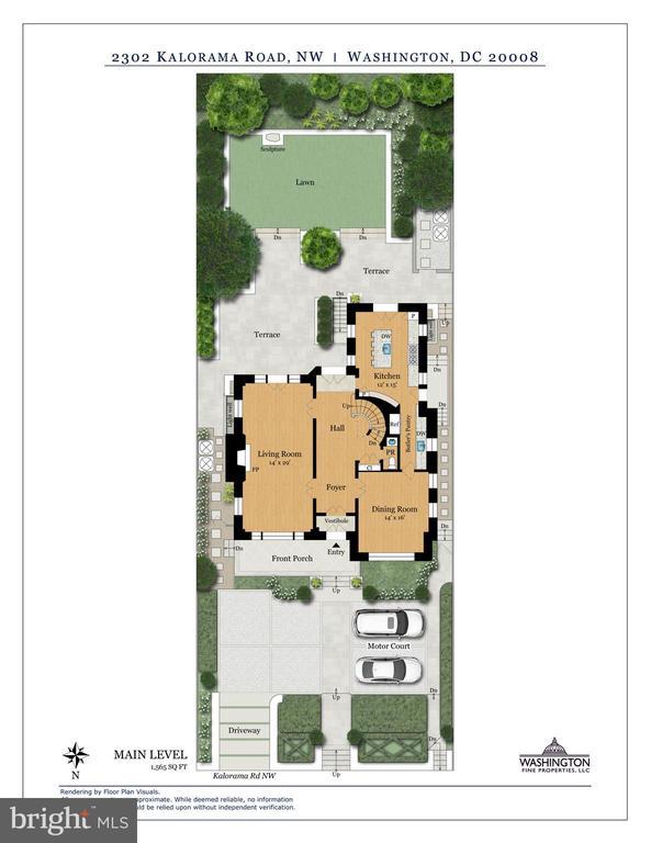 Floor Plans - 2302 KALORAMA RD NW, WASHINGTON