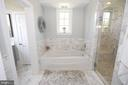 Amazing master bath - 20131 DAIRY LN, STERLING
