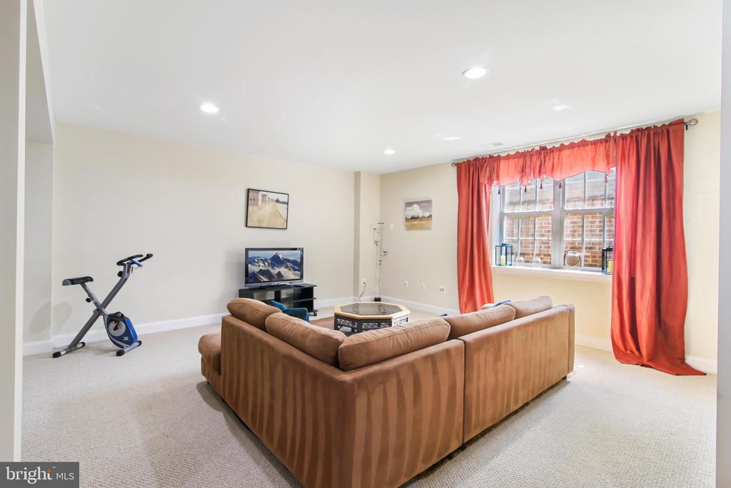 Finished Basement with large Window - 19072 CRIMSON CLOVER TER, LEESBURG