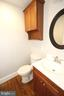 Second sink and toilet in master bath - 20131 DAIRY LN, STERLING