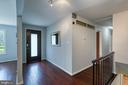 Spacious foyer and open main-level - 3408 GREENTREE DR, FALLS CHURCH