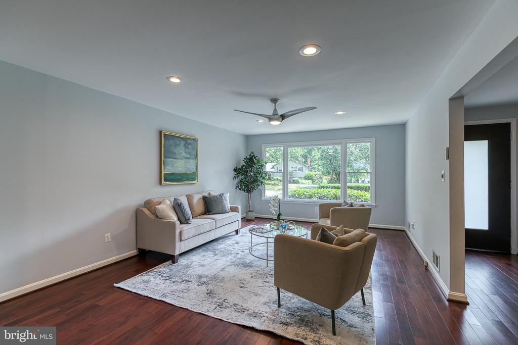 Formal living room - 3408 GREENTREE DR, FALLS CHURCH