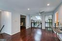 Open main level floorplan! - 3408 GREENTREE DR, FALLS CHURCH