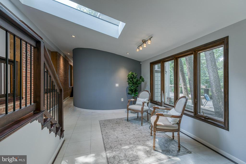 Reading nook with skylight and radiant heat! - 3408 GREENTREE DR, FALLS CHURCH