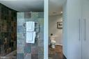 Luxurious en suite master bath! - 3408 GREENTREE DR, FALLS CHURCH