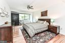 New hardwoods in master bedroom (Jan 2020). - 3001 VEAZEY TER NW #508, WASHINGTON